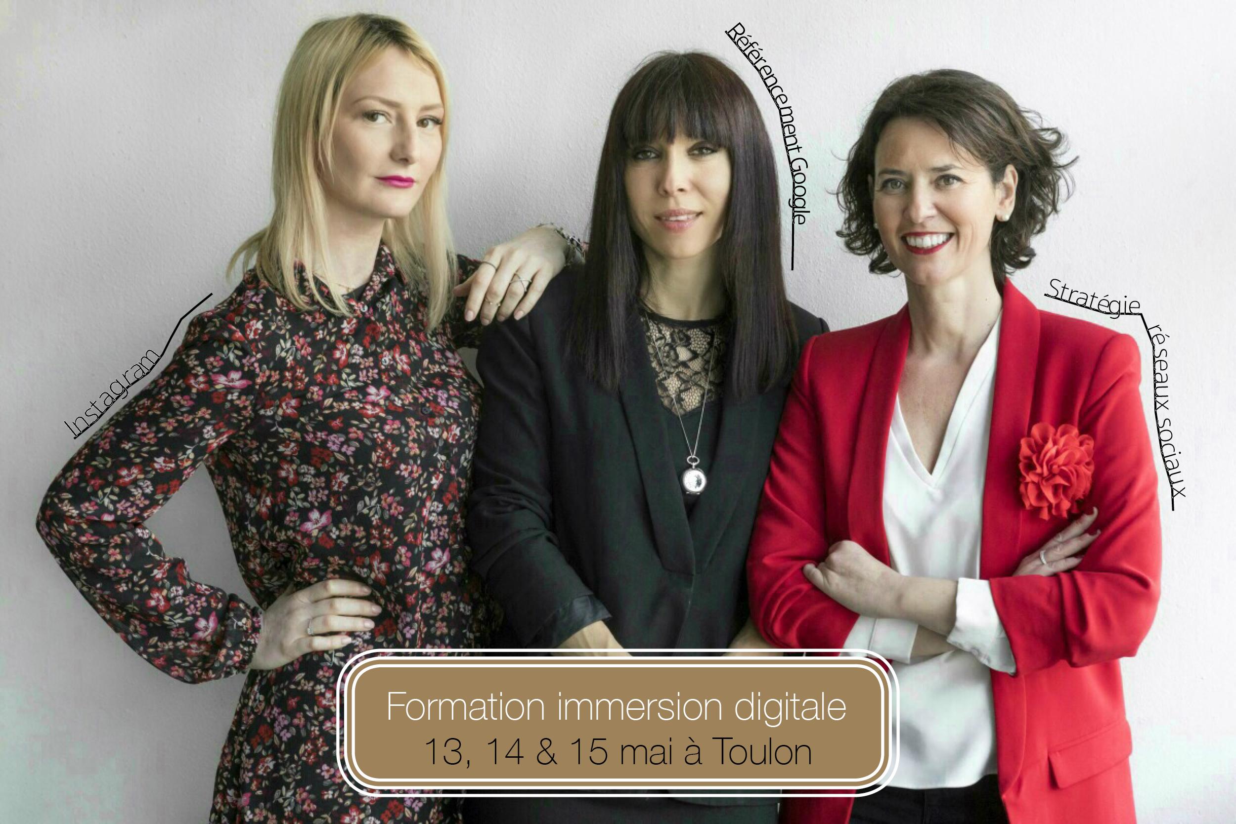Teasing formation Reseaux sociaux Toulon 2019